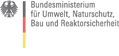 Logo des Bundesministeriums für Umwelt, Naturschutz und Reaktorsicherheit